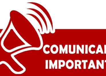 Comunicado – Normas para el Proceso de Racionalización de Plazas