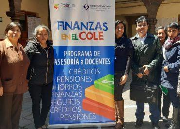 """Con éxito se realizó el taller """"Finanzas en el Cole"""" dirigido a Docentes de las Áreas de Ciencias Sociales y Educación para el Trabajo de la Región Cusco."""