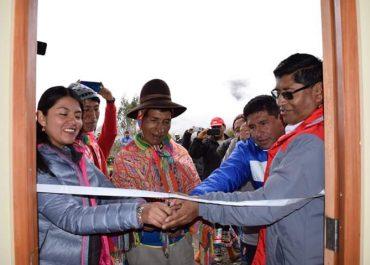 Dirección Regional de Educación, inauguró I.E. Inicial en la comunidad de Queyupay, distrito Lares, provincia de Calca.