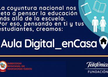 """""""Aula Digital en Casa"""" – Fundación Telefónica"""